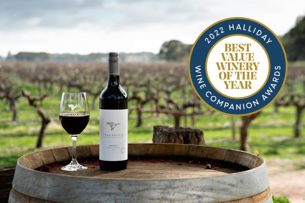 Lake Breeze best value winery of the year